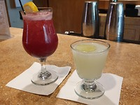 Lekkere cocktail gedronken in het Grant Village Restaurant