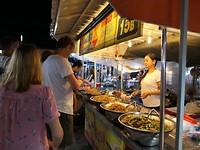 Eten op de markt