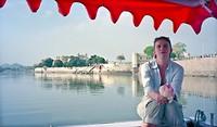 Dag 9 - Ik op een bootje