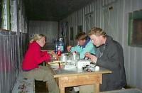 Dag 6 - Diner in Old Moses Camp op 3.300 meter