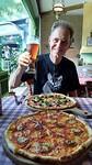 Dag 15-Tijd voor pizza bij Del Papa