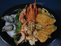 Dag 25 - Rock Lobster Platter @Cervantes Country Club