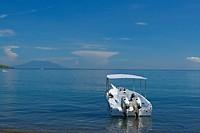 Dag 8 - De boot voor de duiktrip ligt klaar