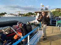Dag 1 - de boot vanuit Tulcea