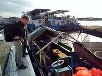 Dag 1 - de boot vanuit Tulcea (2)