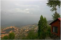 Dag 04 - uitzicht vanaf het hotel in Nagarkot