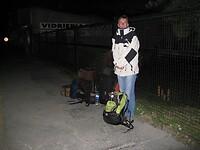 Dag 16 - Wachten op de bus in de vroege morgen