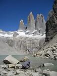 Dag 21 - naar Base de las Torres en terug naar Refugio Los Torres Norte (7)