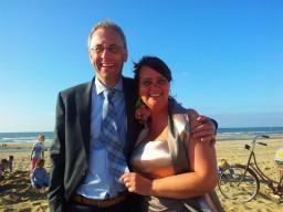Wim en Desiree op reis