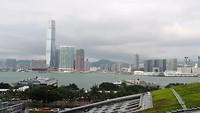 Zicht op Kowloon