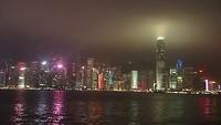 Lichtschow Hong Kong Harbour
