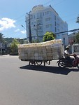 vervoer op scooter