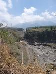 weg die het lava is gegaan