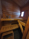 Sauna in cottage