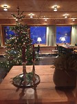 Kerstboom gemaakt met chef in het hotel (3)
