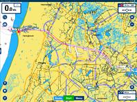 Route van Ijmuiden naar Amsterdam Marina