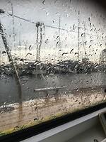 Het regent flink op woensdag