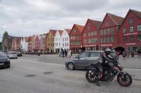 Bryggen het toeristische gedeelte van Bergen