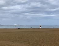 Laatste blik op het strand van Getxo.