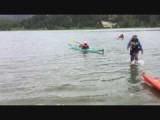 Donny in de kayak