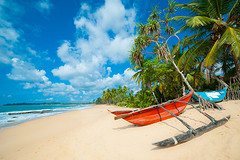 Eerste stop: Negombo beach