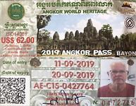 M'n pas voor Angkor