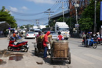Aranyaprathet, grens Thaise kant
