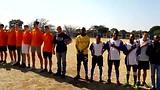 Zuid-Afrikaans volkslied met Janou, Wesley en Remy