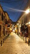 La Paz by night