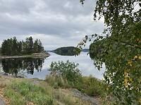 Langs weg 62 van Imatra naar Mikkeli