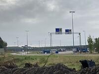 Grensovergang Svetogorsk naar Rusland