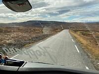 Perspectief vanuit de sleepauto als bijrijder