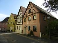 Mooie vakwerkhuizen in Velburg