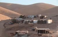 Bedoïenenkamp langs de weg naar Jeruzalem