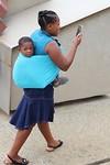 Moeder met kindje