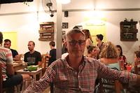 Bakalogatos, een restaurant zonder toeristen (behalve wij dan)
