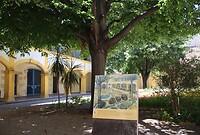 Vincent schilderde ook het ziekenhuis waar hij verbleef na het oor-incident