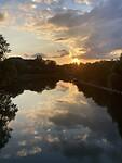Avond aan de Maas