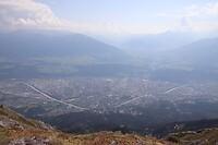 Uitzicht op Innsbruck