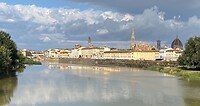 Uitzicht op Florence aan de Arno