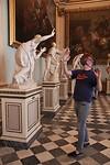 Vreemd tafereel in de Uffizi