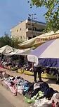 Vlooienmarkt in buitenwijk Tirana