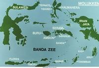 kaart van Maluku