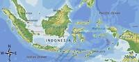 Kaart van Indonesia