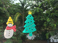 Kerst in de jungle