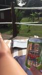 Zon, zwembad, radler