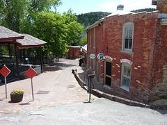 Het oude straatje in Reeder's Alley