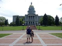 Het capitool in Denver, de laatste van deze trip