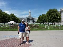 Gemeentehuis van Denver, aan de overkant van het capitool