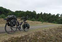 Op de heide vlakbij Kootwijk